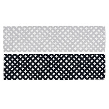 Silver Adolfo Reversible Outdoor Table Runner