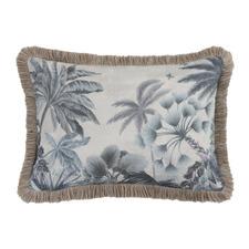 Cascade Rectangular Cotton-Blend Cushion
