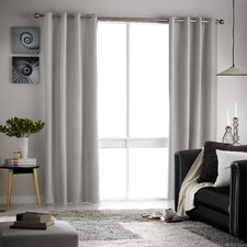 Casino Single Panel Eyelet Blockout Curtain