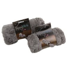 Flamin Puppy Faux Fur Pet Blanket