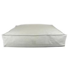Jean Linen-Blend Pet Floor Cushion