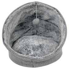 Grey Moonlight Eskimo Cat Bed