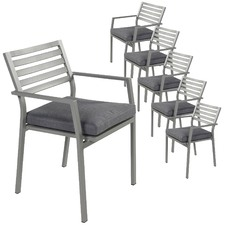 Joy Outdoor Dining Chairs (Set of 6)