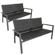 Elm 2 Seater Outdoor Sofas (Set of 2)