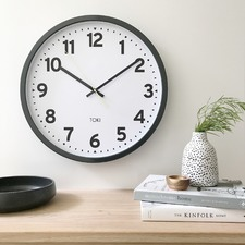 Kennett Silent Sweep Wall Clock