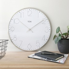 Ola Silent Sweep Wall Clock