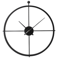 61cm Black Jacob Wall Clock