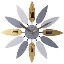 52cm Multi-Coloured Bloom Wall Clock