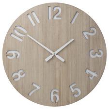 60cm Natural Henrik Wall Clock