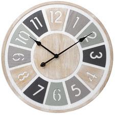 60cm Multi-Coloured Lucas Wall Clock
