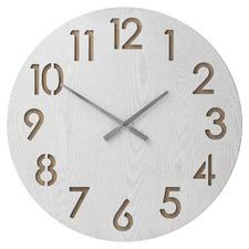 60cm White Henrik Wall Clock