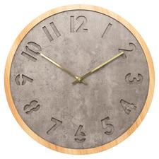 Grey Jordan Silent Wall Clock