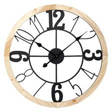60cm Harper Steel Wall Clock