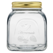 Homemade 500ml Glass Jar
