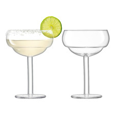 Mixologist Cocktail Coupe Glasses (Set of 2)