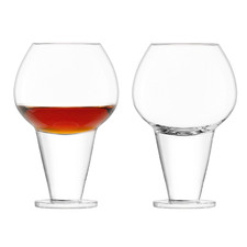 Clear Rum Tasting Glasses (Set of 2)