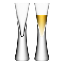 Clear Moya Liqueur Glasses (Set of 2)