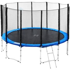 Sky High Blue Trampoline