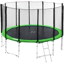 Sky High Springless Trampoline