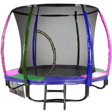 Sky High Rainbow Trampoline