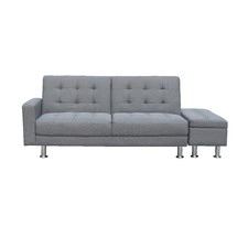 Yorn 3 Seater Sofa Bed with Ottoman