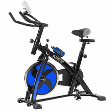 Blue Exercise Spin Bike