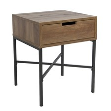 Industrial Austin Side Table