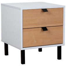 Alcott Bedside Table with Drawers