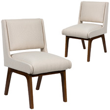 Dasha Upholstered Dining Chairs (Set of 2)