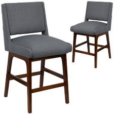 55cm Osher Upholstered Barstools (Set of 2)