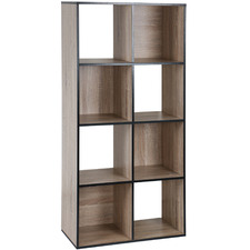 Black Trim Benson 8 Shelf Organiser