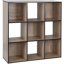 Black Trim Benson 9 Shelf Organiser