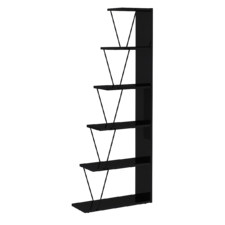 Damia 5 Tier Ladder Bookshelf