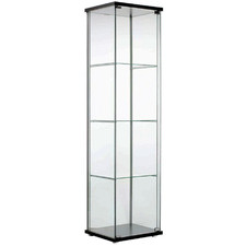 Kodu Single Door Glass Display Cabinet