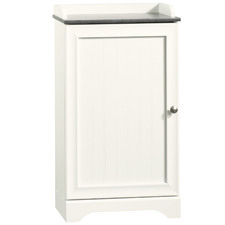 White Caraway Freestanding Bathroom Cabinet