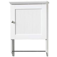 White Caraway Bathroom Wall Cabinet