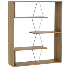 Natural Damia 4 Tier Bookcase