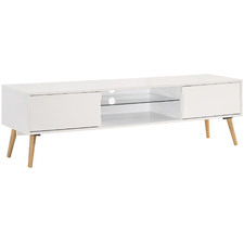 White Esme Entertainment Unit