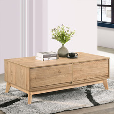 Natural Anderson Coffee Table with Storage