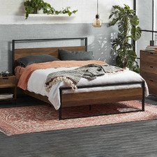 Industrial Austin Queen Bed Frame