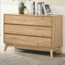 Natural Anderson 3 Drawer Chest