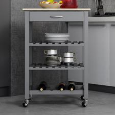 Ollivia 3 Tier Kitchen Trolley