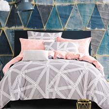 Space Cotton Quilt Cover Set