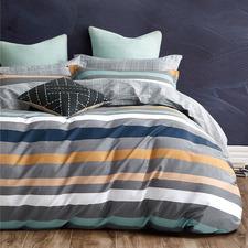 Multi-Coloured Max Cotton Quilt Cover Set