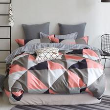 Multi-Coloured Sophia Cotton Quilt Cover Set