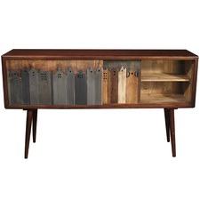 Villa Recycled Wood Console
