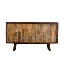 Building Recycled Wood Sideboard
