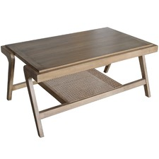 Natural Sevilla Wood Coffee Table