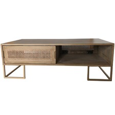 Sevilla Coffee Table with Sliding Door