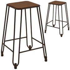 65cm Cooper Counter Stools (Set of 2)